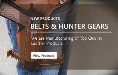 Leather Bullet Carriers and Belts