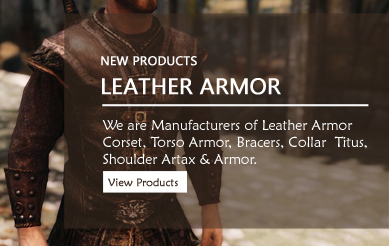 Leather Armor, Corsets, torso, bracers
