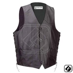 LEATHER VESTS,